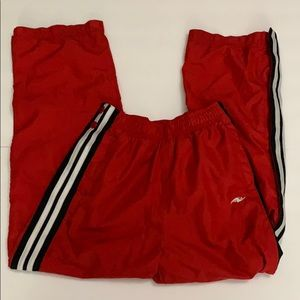 Athletic Works Boys Red Snap Pants Pockets 20PE